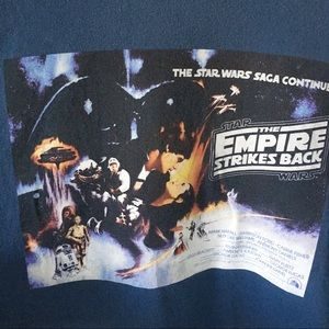 Star Wars Shirts - Star Wars The Empire Strikes Back T-Shirt size L